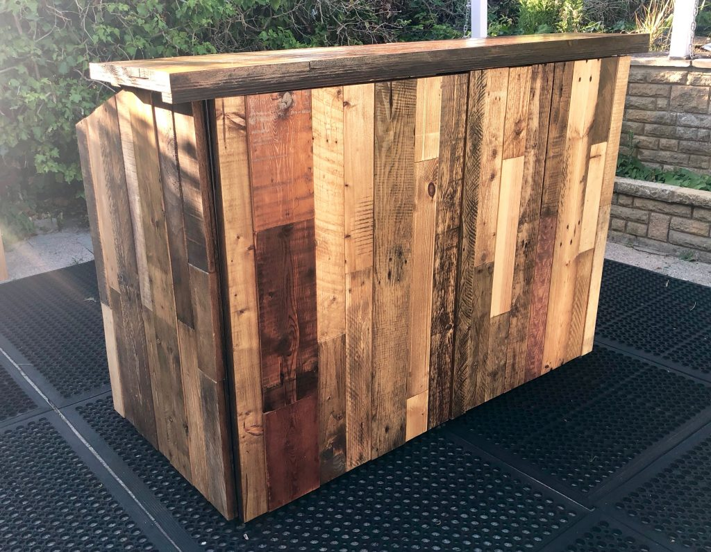 Mobile Bar Hire Wooden