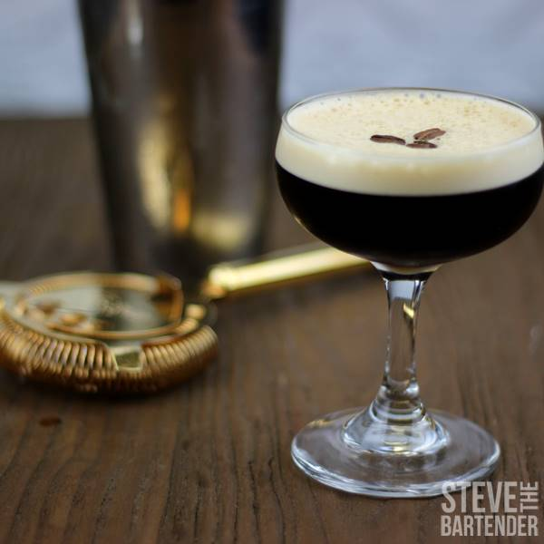 Espresso Martini on Table Top